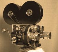 antigua camara cine